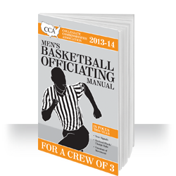 2013-14 CAA Men's Collegiate Basketball Officiating Manual