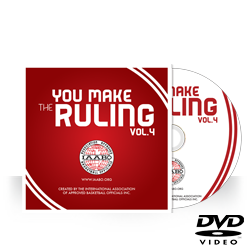 "IAABO ""You Make The Ruling"" Vol. 4 DVD"