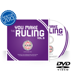 "IAABO ""You Make The Ruling"" Vol. 5 DVD"