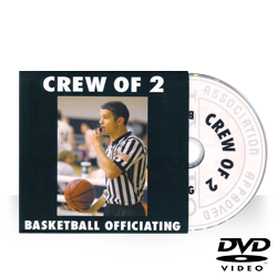 IAABO Basketball Mechanics Training: Crew of 2 DVD