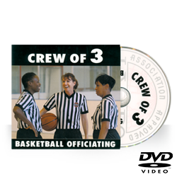 IAABO Basketball Mechanics Training: Crew of 3 DVD