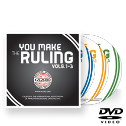 "IAABO ""You Make The Ruling"" Vols. 1, 2 and 3 DVD Set"