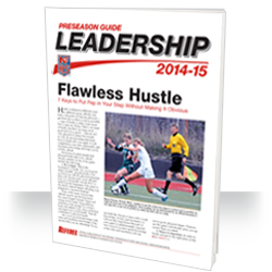2013-14 NFHS Leadership Officiating Preseason Guide
