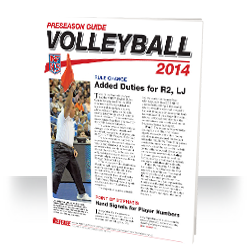 2013 NFHS Volleyball Preseason Guide